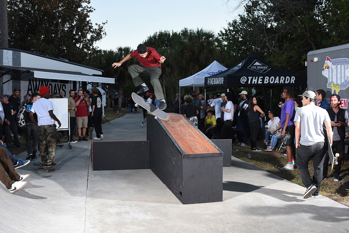 Boardr BBQ 2016 - 3 Flip Crook