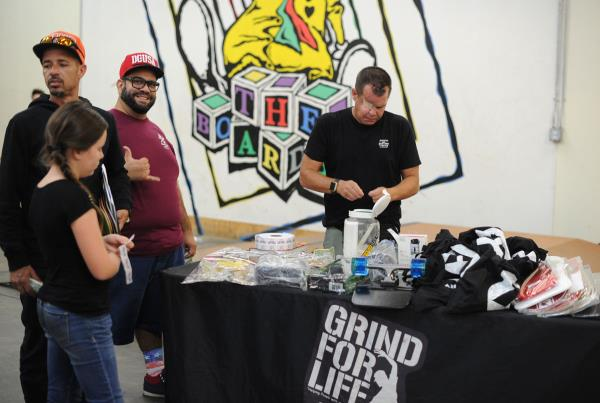 Grind for Life Annual Awards 2016 - Raffle Stuff