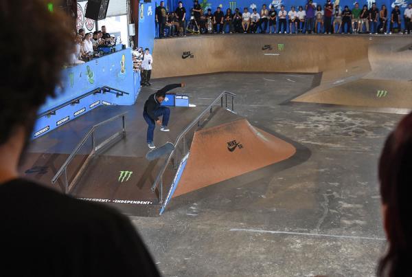 Tampa Am 2016 - Dashawn 360 Flip Lipslide
