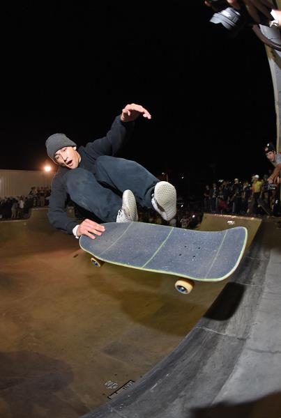 Tampa Am 2016 - Eric Finger Flip Lien to Tail