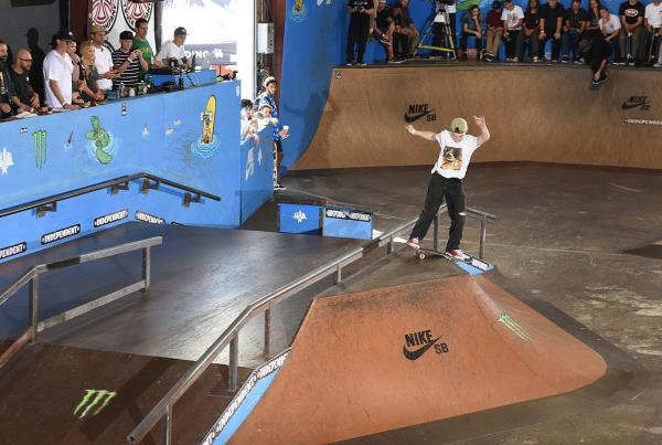 Tampa Am 2016 - TFunk Ollie Over Lip