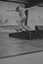 Tyler Wolford, backside tailslide.