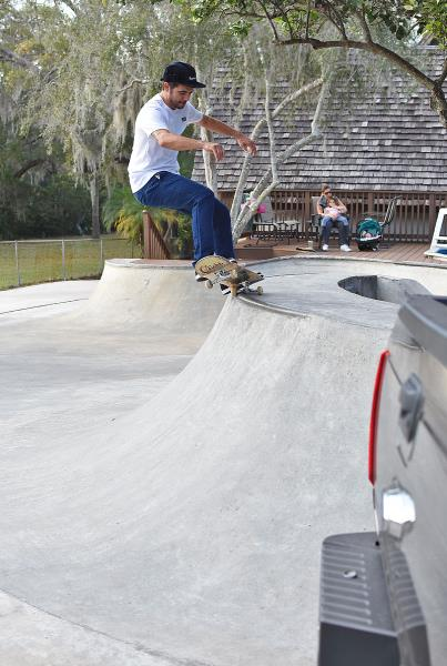 Big Weekend in Tampa for Tim - Local FS Grind