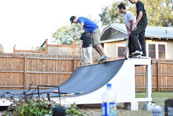 Big Weekend in Tampa for Tim - Derrick's Ramp Thanks