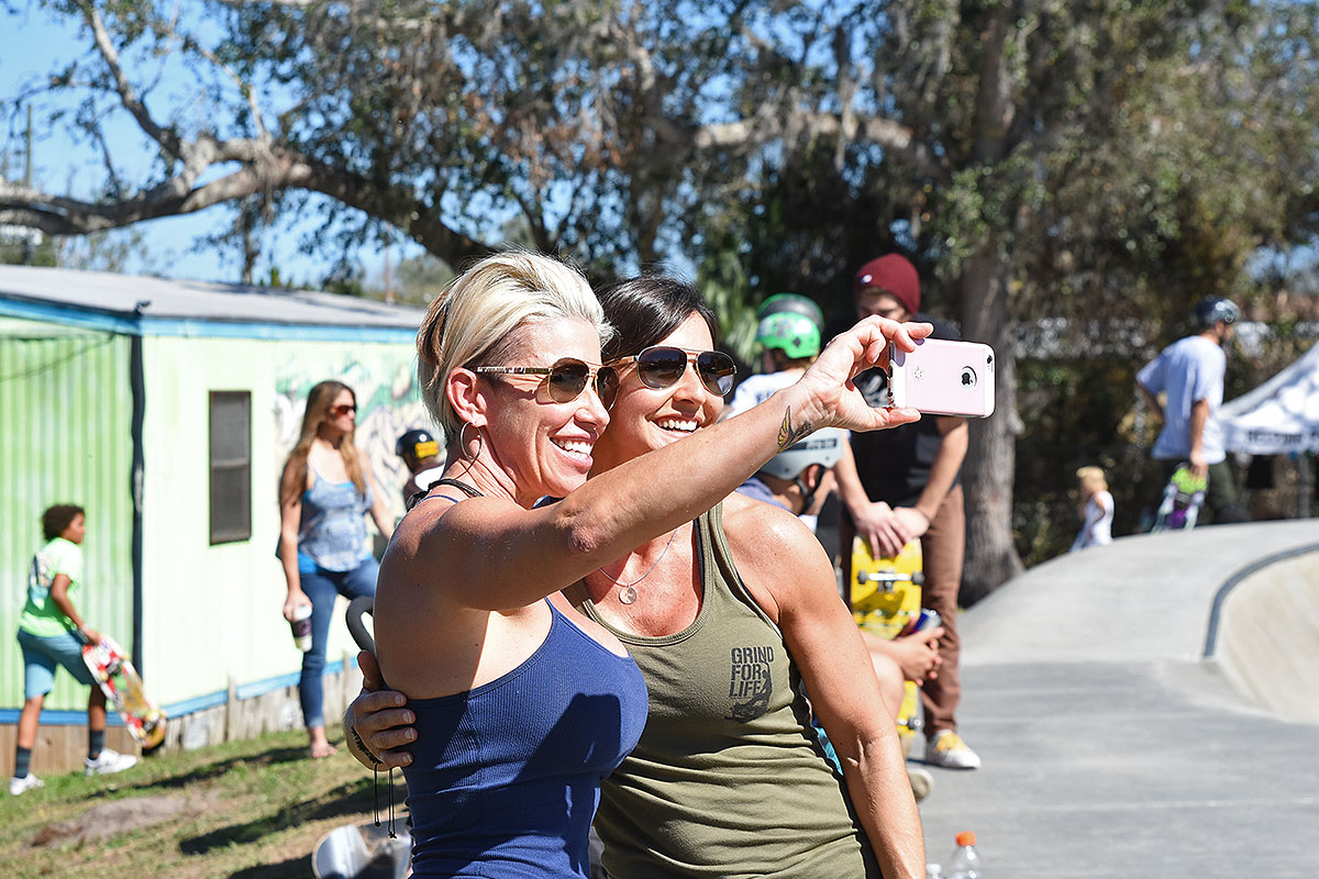 GFL Series at New Smyrna - Selfies