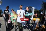 Michael Wiegner, Omar Delgado, and Tary Valle  took home the top 3 spots for Street 30 and Up.