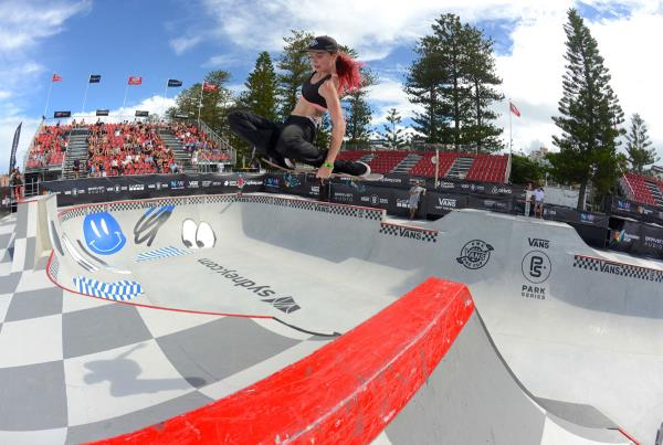 Vans Park Series at Australia - Aimee Massie