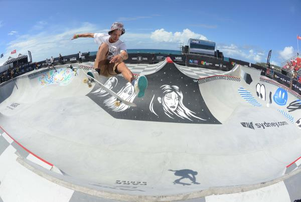 Vans Park Series at Australia - Bowman Hansen