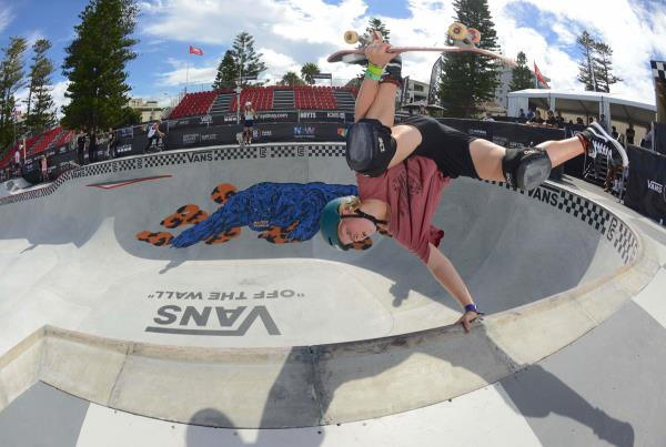 Vans Park Series at Australia - Poppy Starr Olsen