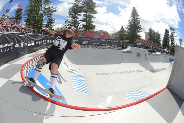 Vans Park Series at Australia - Shanae Collins