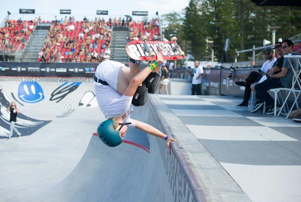 Vans Park Series Australia - Poppy Wins