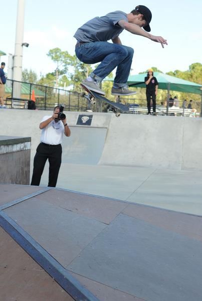 Brad Cromer Kickflip Jupiter Park