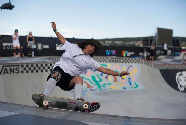 Vans Park Series Australia - Shanae Collins FS 5050