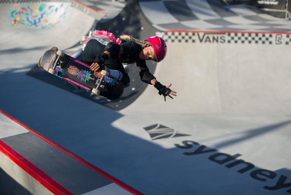 Vans Park Series Australia - Ruby Backside Air