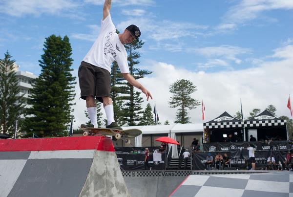 Vans Park Series Australia - Front Rock