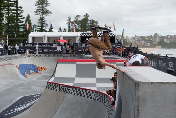 Vans Park Series Australia - Clay Invert