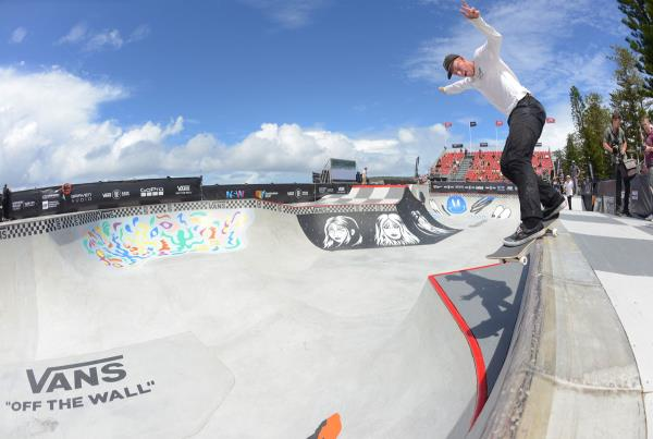 Vans Park Series Australia - George Richards Back Smith