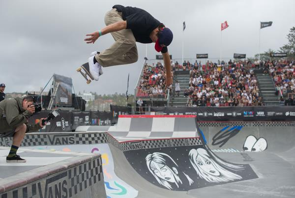 Vans Park Series Australia - Alex Backside Ollie