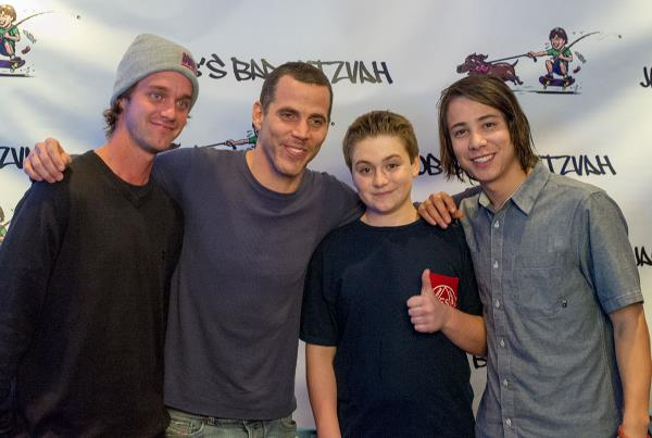 Jacob Seidman With Steve-O and Sean Malto