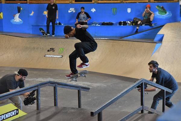 Tampa Pro Weekend - Nollie Flip FSNS