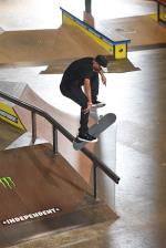 Tommy Fynn, 360 flip noseblunt slide.