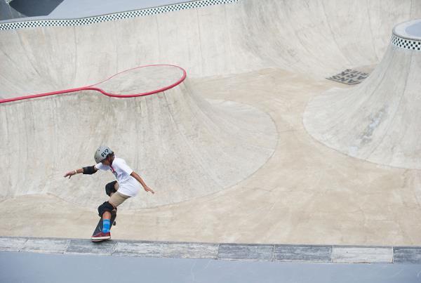 Vans Park Series Brazil - Vicenzo Damasio Tailslide