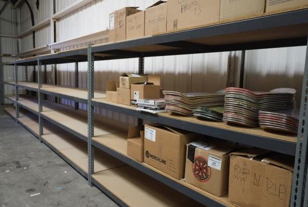 Empty Shelves of Retail
