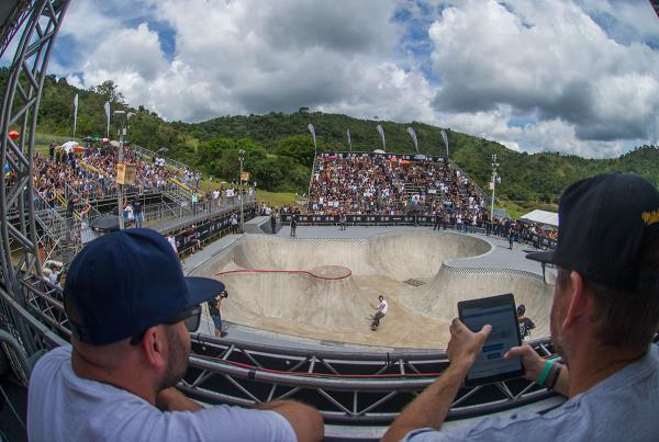 Vans Park Series Brazil - Judges Perch
