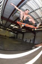 Tim Geiger, frontside flip.
