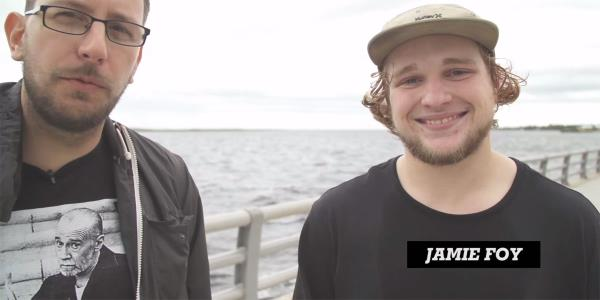 Jamie Foy Chats with Chris Nieratko After Winning The Boardr Am at Tampa Bay