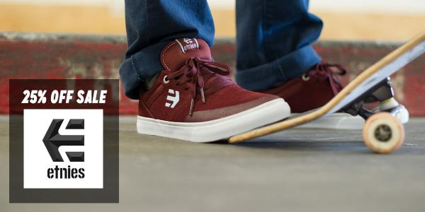 etnies a Quarter Off in The Boardr Store