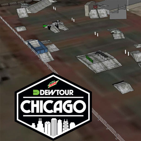 Dew Tour in Chicago and Los Angeles in 2015