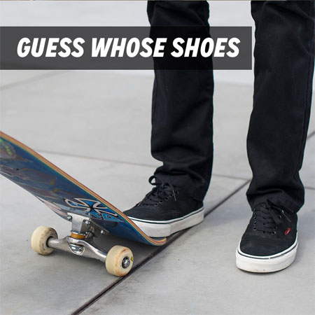 Guess Whose Shoes and Win Some Vans Customs