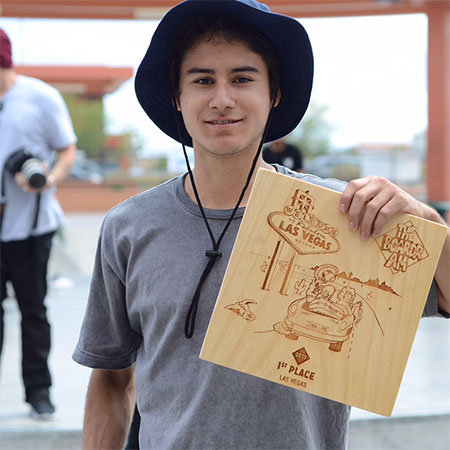 Recap: Enzo Cautela Wins The Boardr Am Las Vegas