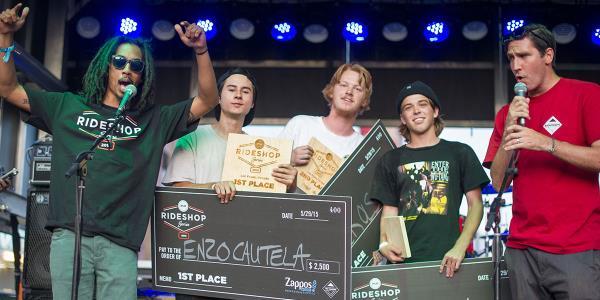Recap: Enzo Cautela Wins Zappos Rideshop