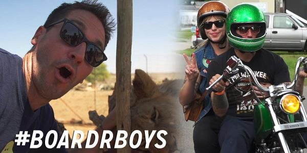 #BoardrBoys Episode 5: Motorcycles, Skateboards, Headquarters, and a Trip to South Africa