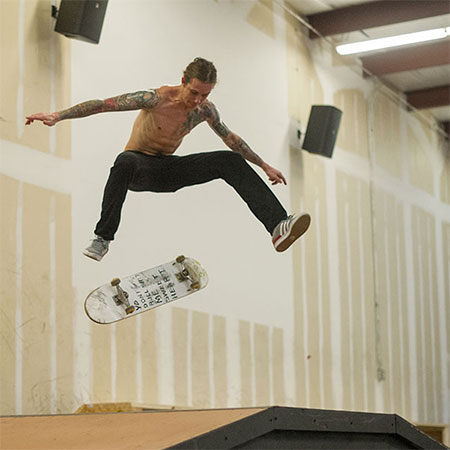 Free Indoor Skateboarding Every Saturday 11am to 6pm: Open House Saturdays at The Boardr in Tampa