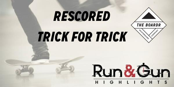 The Berrics Run and Gun Re-scored with a New Trick for Trick Scoring System