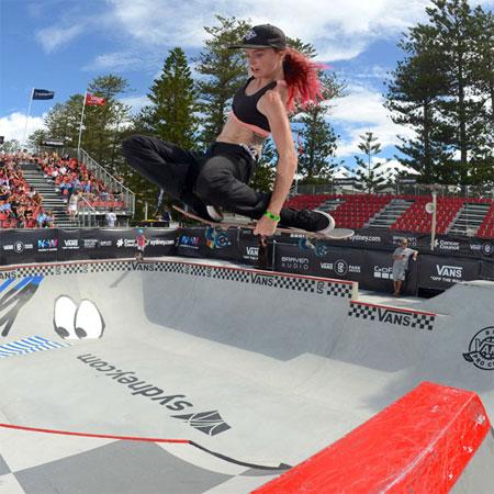 Vans Park Series at Manly, Australia