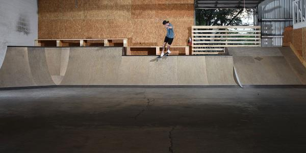 Scenes from Free Skateboarding at HQ on Weekdays