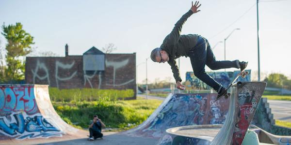 Work and Lurk in Detroit for Red Bull Hart Lines