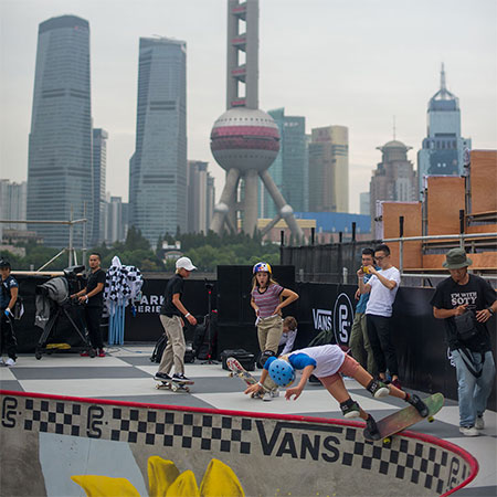 Vans Park Series World Championships at Shanghai
