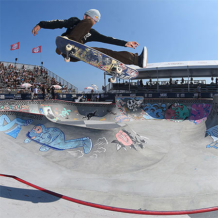 Extras from Vans Park Series at Huntington Beach