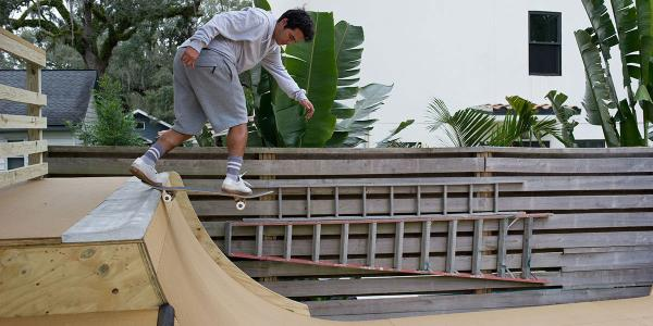 The Latest Backyard Ramp in Seminole Heights Belongs to Jorge