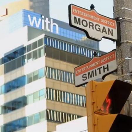Morgan Smith in Toronto