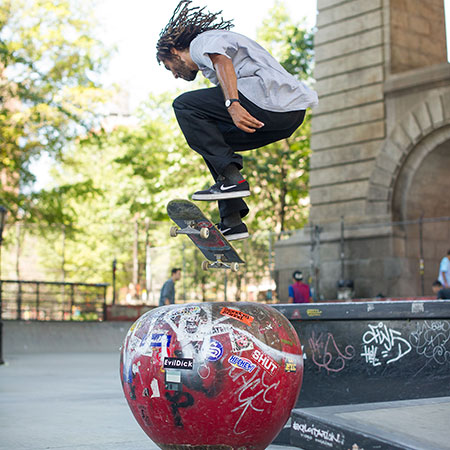 A New York City Skateboarding Vacation