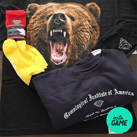 InstaGame: Win a Diamond X Grizzly Box