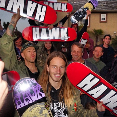 Riley Hawk is Pro