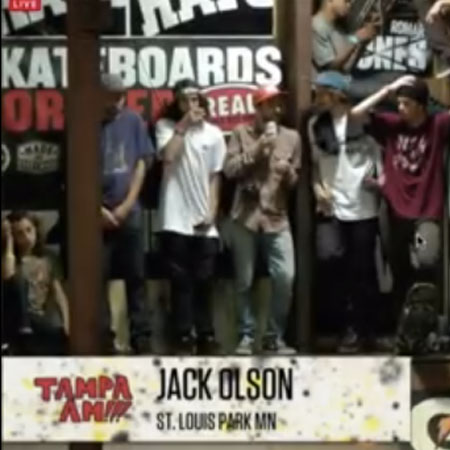 Congrats Jack Olson for Winning Tampa Am 2013