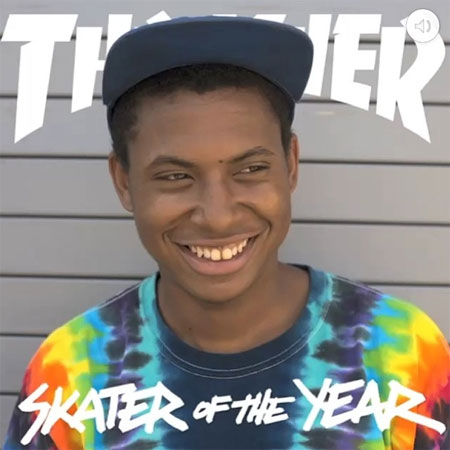 Ishod Wair is Thrasher Skater of the Year